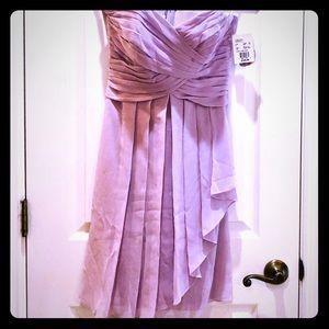 NWT David's Bridal Lavender Dress size 6